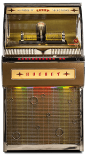 CD Rocket Jukebox
