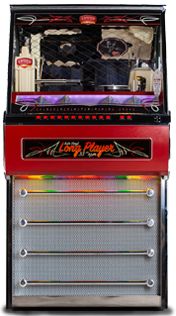 Vinyl Long Player LP Jukebox